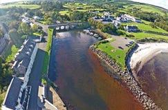Κοβάλτιο Cushendun Antrim Βόρεια Ιρλανδία Ιρλανδία Στοκ Εικόνες