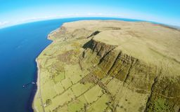 Κοβάλτιο Glenariffe Waterfoot Glenariff Antrim Βόρεια Ιρλανδία irelan Στοκ εικόνα με δικαίωμα ελεύθερης χρήσης