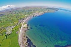 Κοβάλτιο Glenariffe Waterfoot Glencloy Antrim Βόρεια Ιρλανδία Στοκ Εικόνα