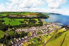Κοβάλτιο Glenarm Antrim Βόρεια Ιρλανδία Στοκ Φωτογραφίες