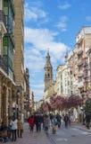 Κοβάλτιο-καθεδρικός ναός του Λα Redonda της Σάντα Μαρία de Logroño, Ισπανία Στοκ εικόνα με δικαίωμα ελεύθερης χρήσης