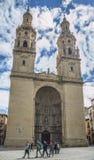 Κοβάλτιο-καθεδρικός ναός του Λα Redonda της Σάντα Μαρία de Logroño, Ισπανία Στοκ φωτογραφία με δικαίωμα ελεύθερης χρήσης