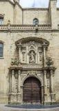 Κοβάλτιο-καθεδρικός ναός του Λα Redonda της Σάντα Μαρία de Logroño, Ισπανία Στοκ Φωτογραφία