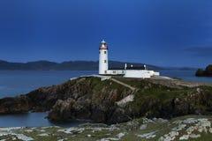 Κοβάλτιο φάρων Fanad Donegal Ιρλανδία Στοκ εικόνες με δικαίωμα ελεύθερης χρήσης