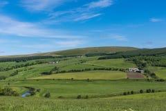 Κοιλάδα από Drumlanrig Castle, Dumfriesshire, Σκωτία UK στοκ εικόνα με δικαίωμα ελεύθερης χρήσης