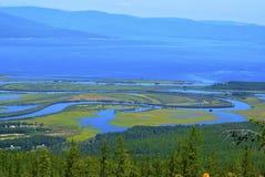 κοιλάδα βόρειων ποταμών Στοκ Φωτογραφίες