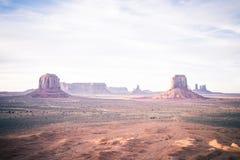 Κοιλάδα θανάτου της Αριζόνα κοιλάδων μνημείων Sedona Στοκ Φωτογραφία