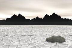 κοιλάδα θανάτου Στοκ Εικόνες