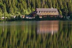 Κοιλάδα λιμνών pleso Popradske στα βουνά Tatra, Σλοβακία, Ευρώπη Στοκ φωτογραφία με δικαίωμα ελεύθερης χρήσης