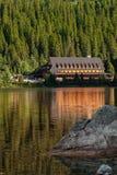 Κοιλάδα λιμνών pleso Popradske στα βουνά Tatra, Σλοβακία, Ευρώπη Στοκ Φωτογραφίες