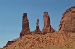 Κοιλάδα μνημείων στην ανατολή Ο παράδεισος της γεωλογίας στοκ φωτογραφία