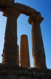 κοιλάδα ναών του Agrigento Στοκ εικόνα με δικαίωμα ελεύθερης χρήσης
