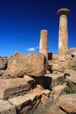 κοιλάδα ναών του Agrigento Στοκ φωτογραφία με δικαίωμα ελεύθερης χρήσης