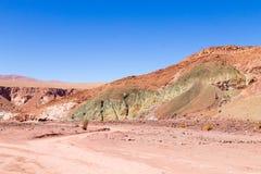 Κοιλάδα ουράνιων τόξων, Χιλή Στοκ εικόνες με δικαίωμα ελεύθερης χρήσης