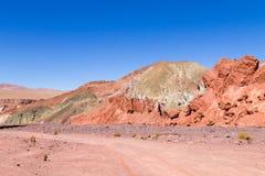 Κοιλάδα ουράνιων τόξων, Χιλή Στοκ Εικόνα