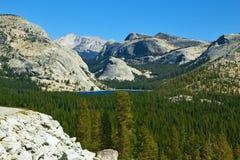 κοιλάδα πάρκων βουνών yosemite Στοκ Εικόνα