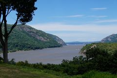 Κοιλάδα ποταμών του Hudson στο δυτικό σημείο Στοκ Φωτογραφία