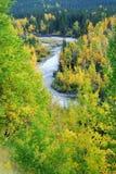 κοιλάδα ποταμών Στοκ εικόνες με δικαίωμα ελεύθερης χρήσης