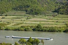 κοιλάδα σκαφών Δούναβη φ&omicro Στοκ Εικόνα