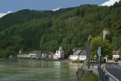 Κοιλάδα της Αυστρίας, Δούναβης Στοκ Φωτογραφίες