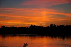 κοιλάδα της Γαλλίας Loire Στοκ εικόνα με δικαίωμα ελεύθερης χρήσης