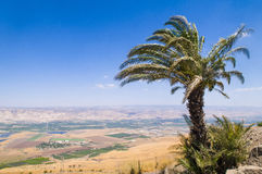 Κοιλάδα της Ιορδανίας Στοκ φωτογραφία με δικαίωμα ελεύθερης χρήσης