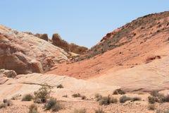 κοιλάδα της Νεβάδας πυρ&kap στοκ φωτογραφία με δικαίωμα ελεύθερης χρήσης