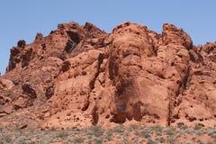 κοιλάδα της Νεβάδας πυρ&kap στοκ εικόνα με δικαίωμα ελεύθερης χρήσης