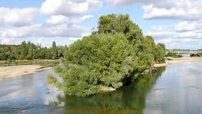 Κοιλάδα της Loire, στη Γαλλία απόθεμα βίντεο
