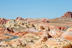 κοιλάδα τοπίων ερήμων Στοκ Εικόνες