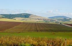 κοιλάδα τοπίων yezreel Στοκ φωτογραφία με δικαίωμα ελεύθερης χρήσης