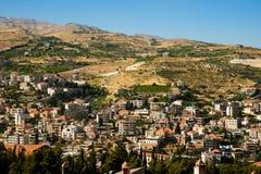 κοιλάδα του Λιβάνου bekaa zahle Στοκ Φωτογραφία