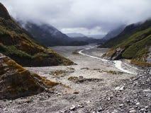 Κοιλάδα του παγετώνα του Franz Josef. Νέα Ζηλανδία. Στοκ Εικόνα
