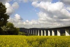 κοιλάδα του Ρουρ γεφυ& στοκ φωτογραφία
