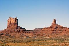 κοιλάδα του Utah μνημείων Στοκ φωτογραφία με δικαίωμα ελεύθερης χρήσης