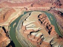 κοιλάδα του Utah ποταμών Στοκ Εικόνες