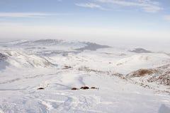 Κοιλάδα των βουνών Στοκ φωτογραφία με δικαίωμα ελεύθερης χρήσης
