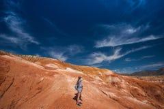 Κοιλάδα των τοπίων του Άρη στοκ εικόνα με δικαίωμα ελεύθερης χρήσης