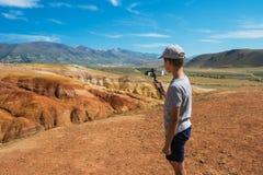 Κοιλάδα των τοπίων του Άρη στοκ εικόνες με δικαίωμα ελεύθερης χρήσης