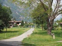 Κοιλάδα Aosta στην Ιταλία Στοκ εικόνες με δικαίωμα ελεύθερης χρήσης