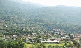Κοιλάδα Aosta στην Ιταλία Στοκ Εικόνες