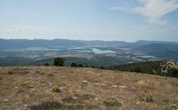 Κοιλάδα Baydar, Κριμαία Στοκ φωτογραφία με δικαίωμα ελεύθερης χρήσης