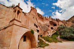 κοιλάδα cappadocia zelve Στοκ εικόνα με δικαίωμα ελεύθερης χρήσης
