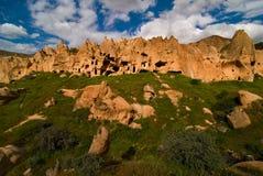 κοιλάδα cappadocia zelve Στοκ Εικόνα