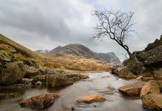 Κοιλάδα Glencoe, Χάιλαντς της Σκωτίας Στοκ Εικόνα