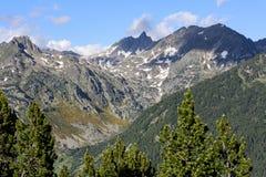 Κοιλάδα Incles, Canillo, Ανδόρα στοκ εικόνες