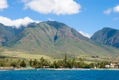 κοιλάδα Maui isla της Χαβάης Στοκ φωτογραφία με δικαίωμα ελεύθερης χρήσης