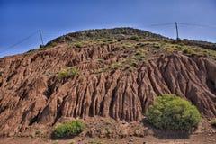 κοιλάδα moroco draa 4 Στοκ Εικόνες