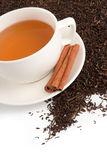κοιλάνετε το τσάι Στοκ Εικόνα