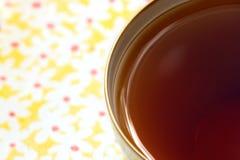 κοιλάνετε το τσάι Στοκ Φωτογραφία
